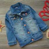 Пиджак куртка джинс F&F (9-12 мес)