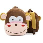 Рюкзак велюровый Monkey Berni