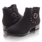 Женские короткие демисезонные ботинки