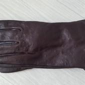 Zara Man Кожаные перчатки. р.М