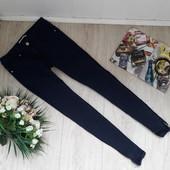 Синие узкие джинсы C(36) hello miss