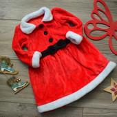 Платье новогоднее нарядное M&S (9-12 мес)