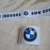 Напульсник и повязка для головы для игры в большой теннис. Набор BMW.