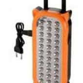 Мощная Аккумуляторная лампа-фонарь на аккумуляторах!!! Укр почта при получении!Заряжается от сети!!!