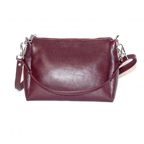 Кожаная женская сумка разные цвета фото №1
