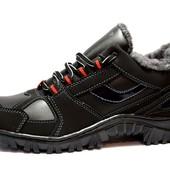 Кроссовки-Ботинки зимние прошитые утепленные (КБ-17)