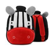 Рюкзак велюровый Zebra Berni
