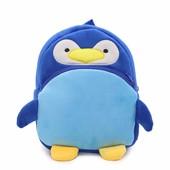 Рюкзак велюровый Birds Blue Berni
