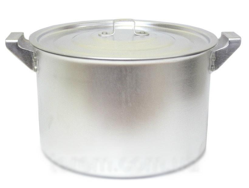 Кастрюля алюминиевая цилиндрическая 20л китай-алюминий фото №1