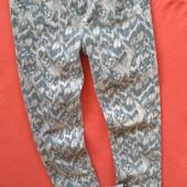 Шикарные женские джинсы брючки River Island 34 в состоянии новых.