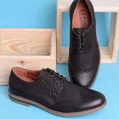 Мужские черные классические туфли