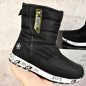Зимние женские ботинки Situo Snowboot black