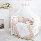 Комплект в кроватку Akvarel (Разные модели)