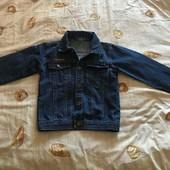 Пиджак джинсовый на мальчика возраст 10 лет