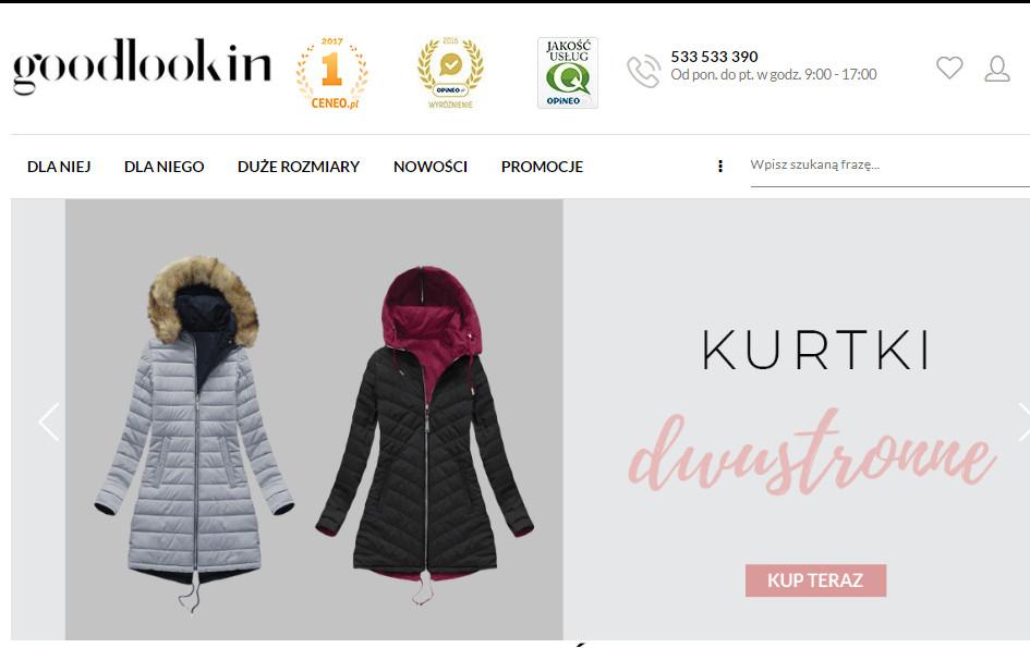 Goodlookin верхняя одежда куртки парки пальто пуховики с польского сайта фото №1