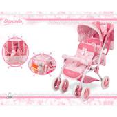 Коляска для кукол двойняшек DeCuevas «Даниэла» 90321
