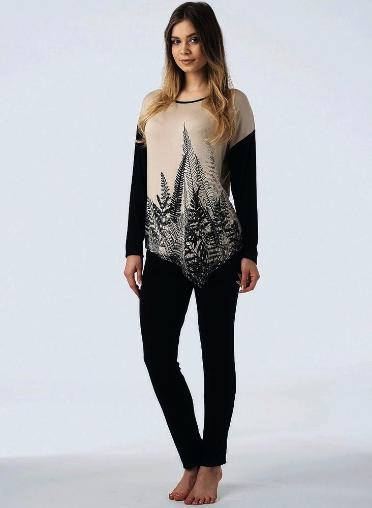 Пижама женская вискозная lhs 857 от key (польша) отличная цена ... 111b618968c1f
