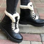 Сапоги Ботинки Женские Зима 36-41 размеры