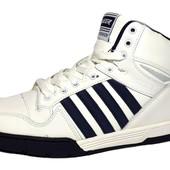 Кожаные кроссовки Veer отличного качества (V-6718-blu)