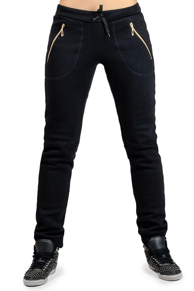 Р-р 46-56, зимние, с начесом, женские штаны, теплые фото №1
