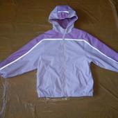 6-8 лет, р. 116-122-128, Куртка непромокайка дождевик на флисе, Швеция