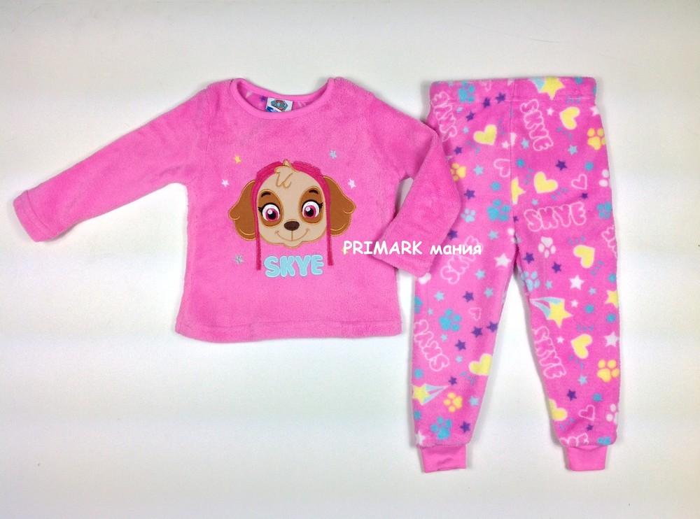 Пижама щенячий патруль для девочек (1.5-7 лет) nickelodion. читать описание! фото №1