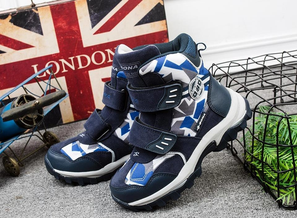 Распродажа!!! зимние детские ботинки bona. новые! р. 33, 34 фото №1