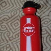 новая спортивная бутылка Sport relief Англия