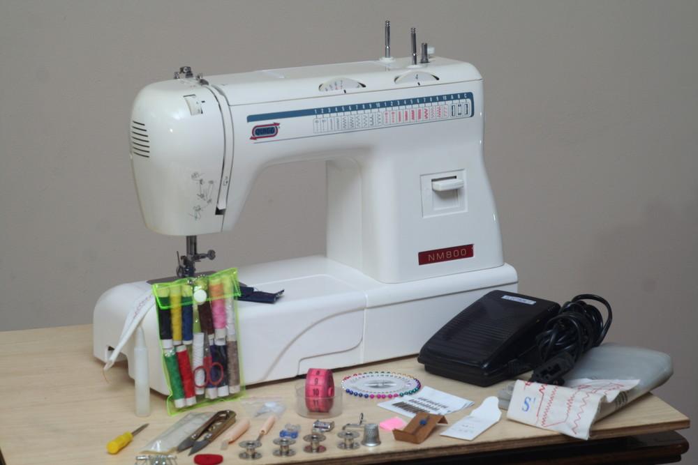 Швейная машина quigg nm800 германия - гарантия 6 мес фото №1