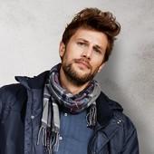 Мужской фланелевый шарф 175 х 30 см Тсм Tchibo.