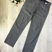 Фирменные тёплые брюки Tommy Hilfiger, размер 36/34