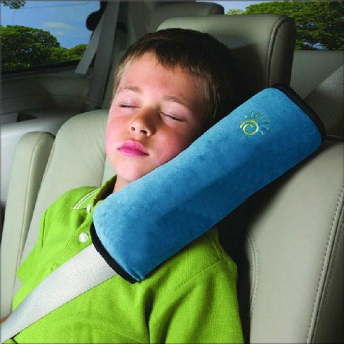 Подушка накладка на ремень безопасности для детей фото №1