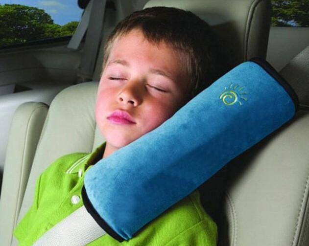Детская подушка на ремень безопасности фото №1