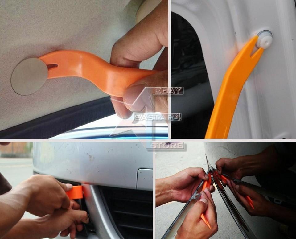 Набор пластикового инструмента для демонтажа фото №1