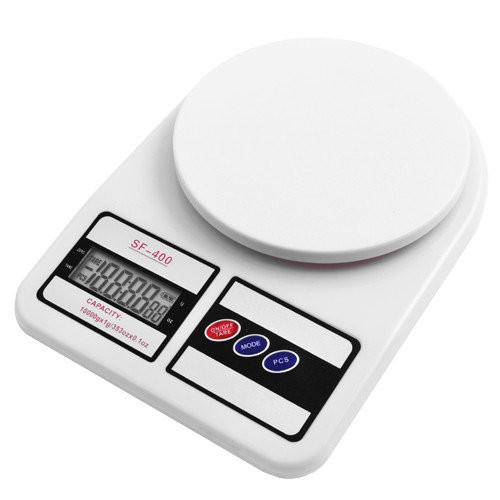 Электронные кухонные весы sf-400 фото №1