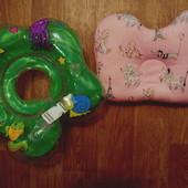 Круг на шею и подушка для новорожденного
