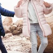 Світло-рожева подовжнна куртка NEXT для дівчат розм. 3-16 років під замовлення
