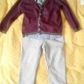 Джемпер, рубашка, штани на 2 роки