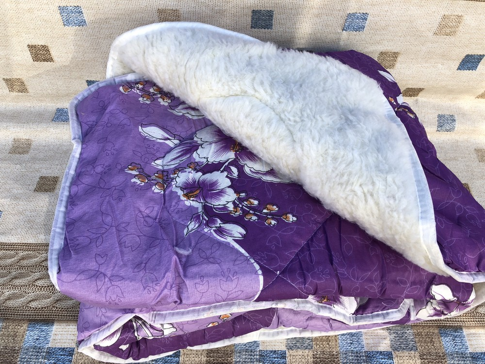 Одеяло меховое. евро размер. не пожалеете!!! фото №1