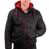 Мужская зимняя теплая куртка, р-р 44-54