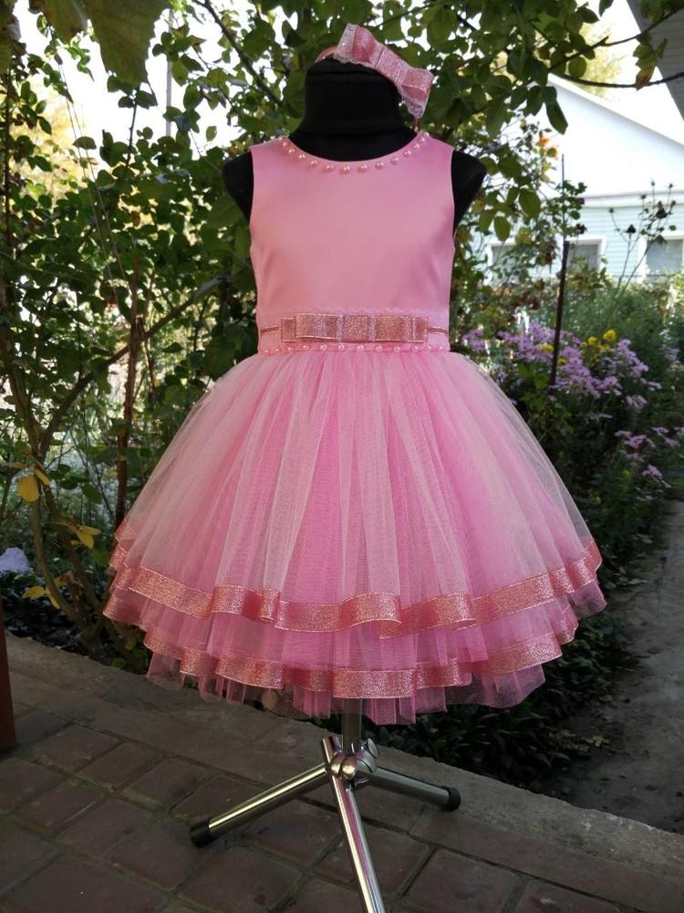 """♥ нарядное платье """"куколка"""" - 80-134 рр ♥ фото №1"""