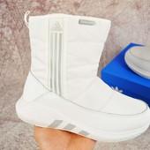 Сапоги зимние дутики Adidas 37-41
