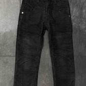 Модные Вельветовые штанишки на флисе на 7, 12 лет,  качество супер!