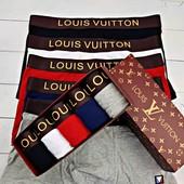 Набор мужских трусов боксеры Louis Vuitton (Луи Вуитон)