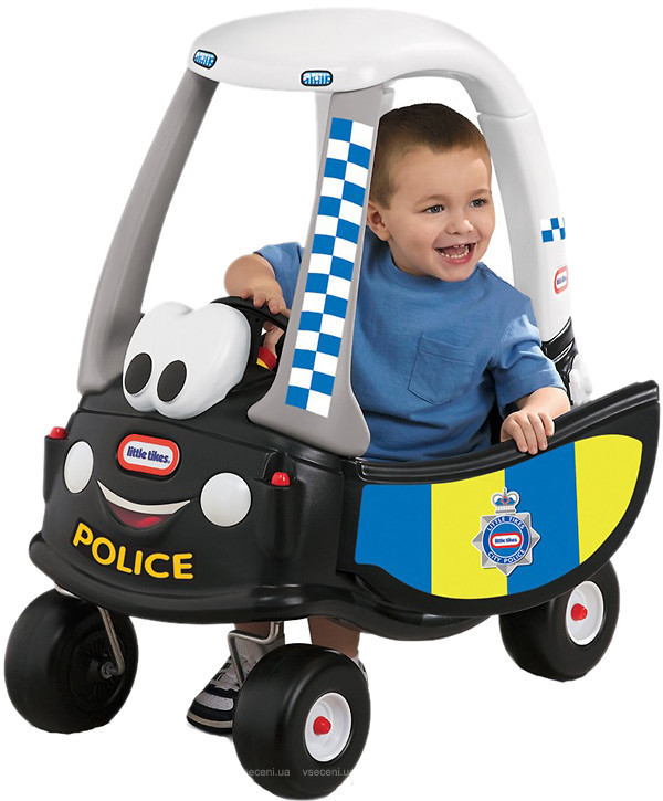 Машинка-каталка толокар little tikes полиция 172984 фото №1
