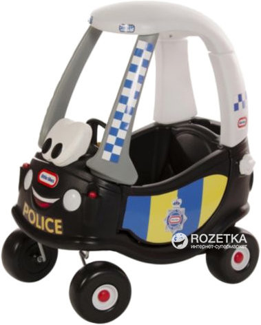 Машинка-каталка толокар little tikes полиция 172984 фото №2