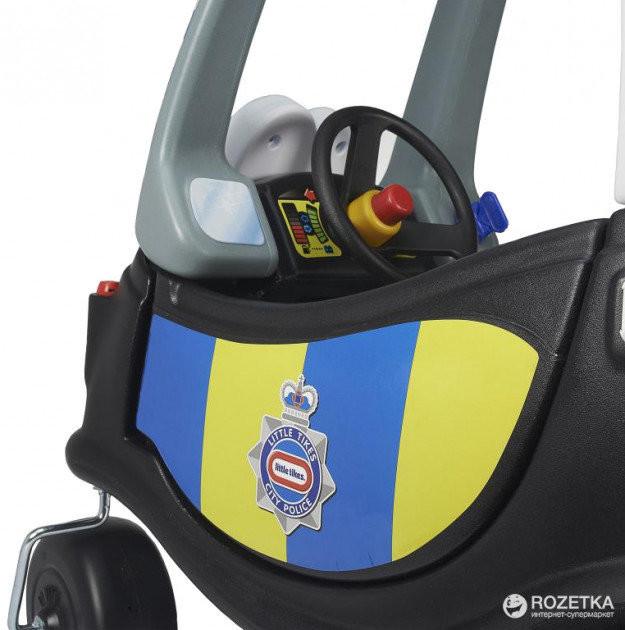Машинка-каталка толокар little tikes полиция 172984 фото №3