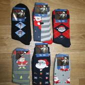 Мужские махровые носки р.41-45