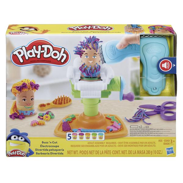 Плей-до игровой набор сумасшедшие прически play-doh e2930 фото №1