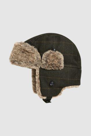 Тепла шапка ушанка next для хлопців 3-16 років під замовлення фото №1